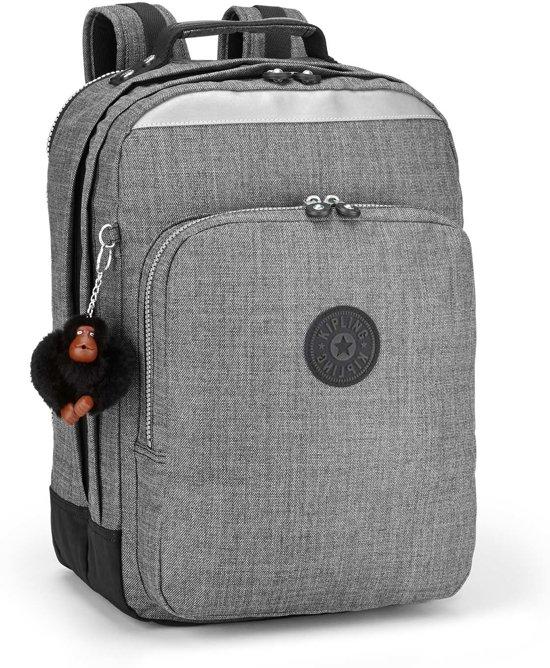 c4e0897b27f bol.com | Kipling College Up - Laptoprugzak - Jeans Grey