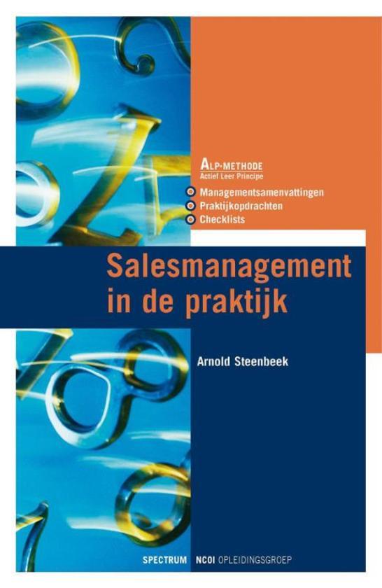 Salesmanagement In De Praktijk
