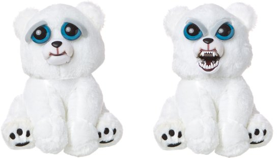 Feisty Pets Polar Bear - Knuffel - IJsbeer - Goliath