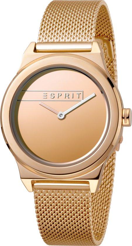 80cf46fbbfd bol.com   Esprit ES1L019L0095 Magnolia horloge - Staal - Rosékleurig ...