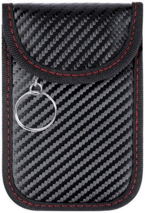 73b4a4aa573 Chulliet – RFID Anti-diefstal beschermhoes voor autosleutel – autopapieren  etui – signaal blokkerende hoes
