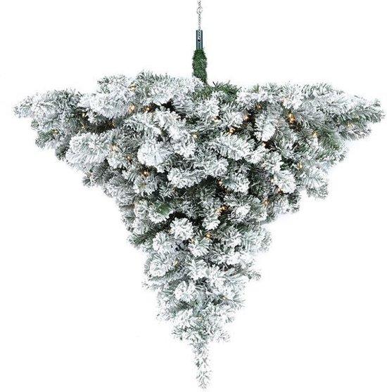 Black Box plafond hanger Scottsdale tree maat in cm: 90 x 89 groen - 48 warm witte LED lampjes