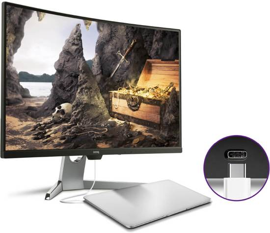 BenQ EX3203R - Curved HDR Gaming Monitor / 144 Hz