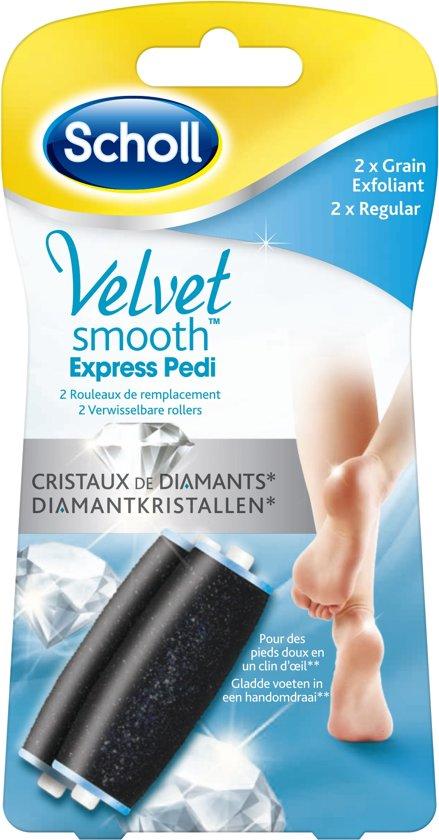Scholl Velvet Smooth Verwisselbare Roller Regular - 2 stuks- Eeltverwijderaar