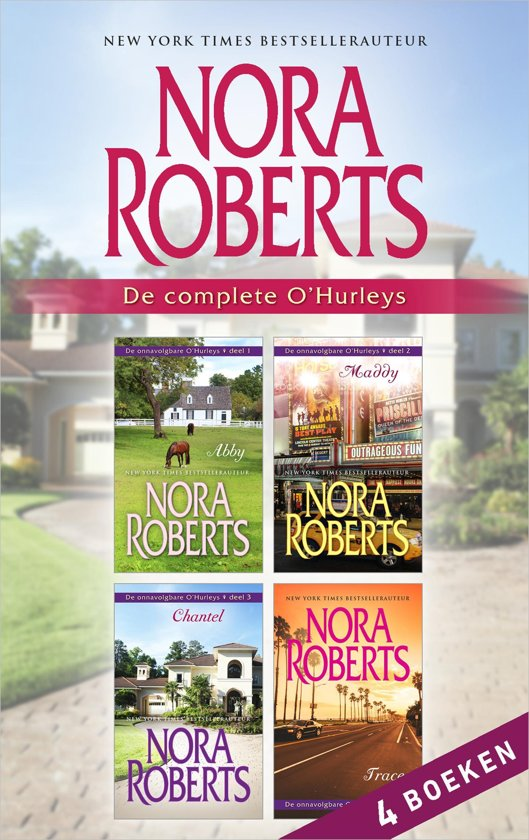 Boek cover De complete OHurleys (4-in-1) van Nora Roberts (Onbekend)