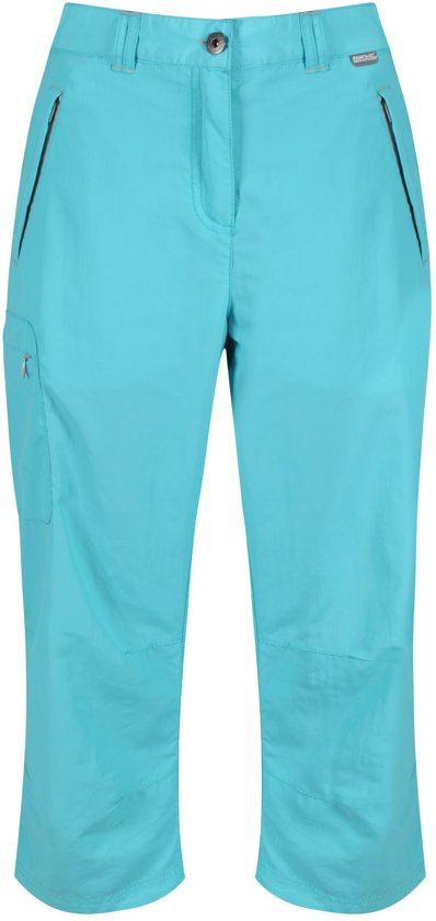 Regatta Chaska Capri Outdoorbroek - Dames - Blauw