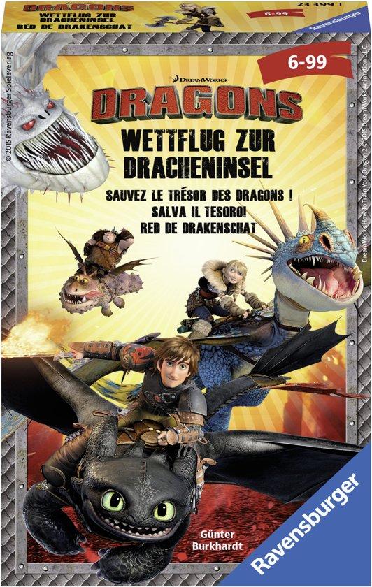 Afbeelding van het spel Ravensburger Dragons Red de drakenschat