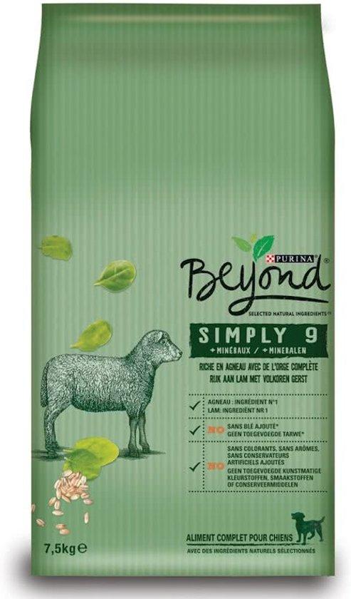 BEYOND SIMPLY 9 - Lam - Hondenvoer - 7,5kg