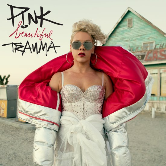 CD cover van Beautiful Trauma van Pink