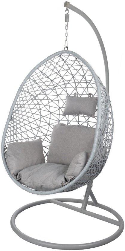 Hangstoel Wit Egg.Egg Hangstoel Cocoon Relax Grijs