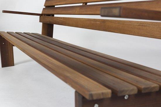MaximaVida tuinbank Famous design 170 cm- uit exclusief mahoniehout