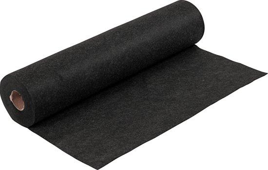 Hobbyvilt, b: 45 cm, zwart, gemelleerd, 5 m
