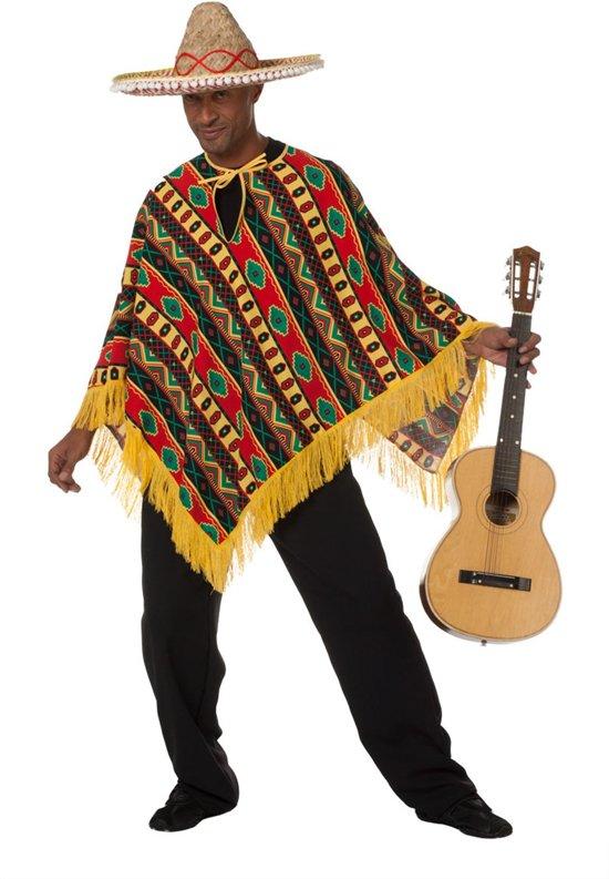 Mexicaanse Poncho Higuitta Maat 50