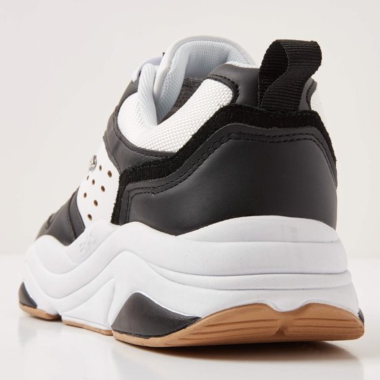 Sneakers Zwart Laag Chunky 46 Maat British Heren Knights qXwvcActS