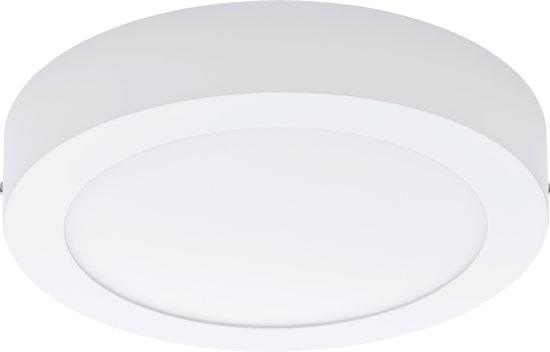 EGLO Fueva 1 - Opbouwspot - LED - Ø225mm. - Wit - 4000K - 2000lm