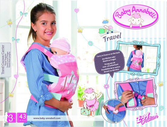 Baby Annabell Travel Cocoon Carrier