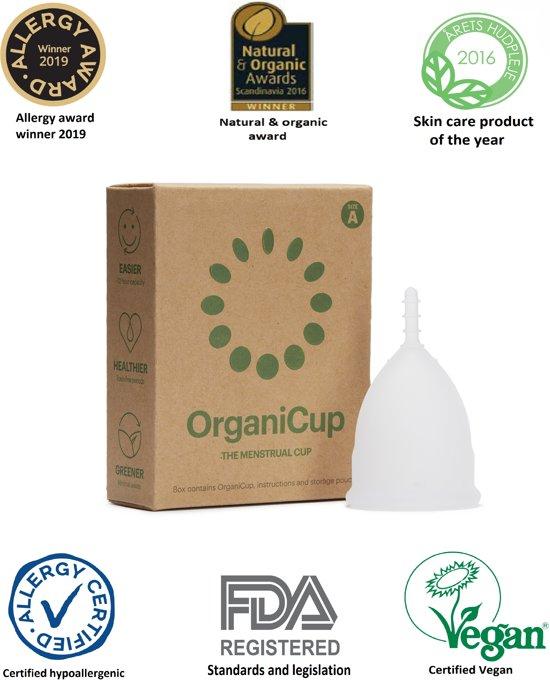 OrganiCup Menstruatiecup - Small - Biologisch