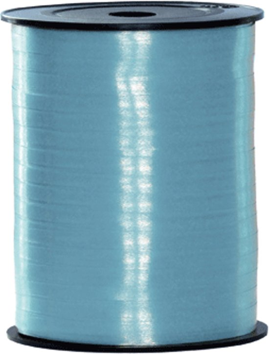 Licht blauw cadeau lint 500 meter