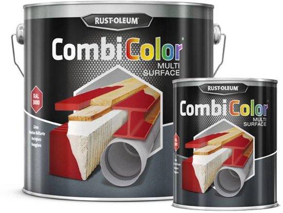 CombiColor Multi-Surface Mat - 075 liter Mat Zwart