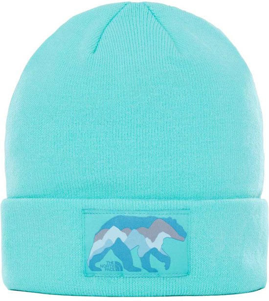 The North Face Dock Worker Beanie - Muts - Kinderen - Bermuda Green