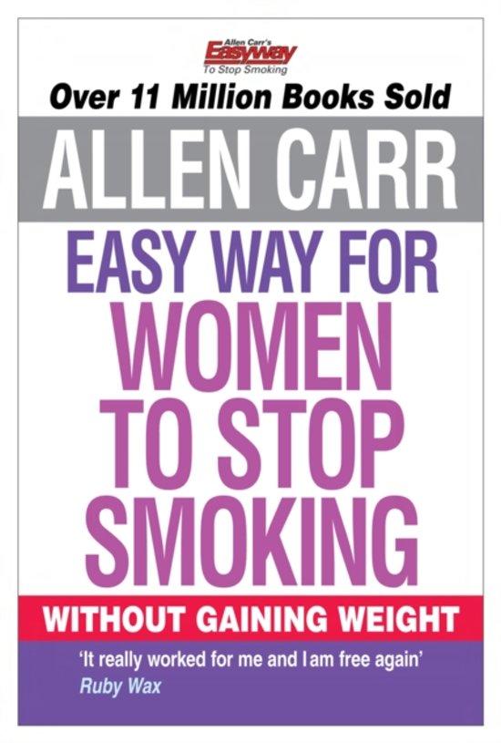 Boek cover Allen Carrs Easy Way for Women to Stop Smoking van Allen Carr (Paperback)