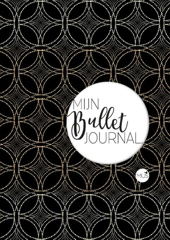 Mijn bullet journal - zwart goud - A6 - Nicole Neven