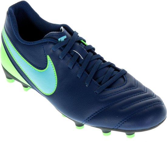 Hommes Nike Tiempo Rio Iv Chaussures De Football Fg - Noir - 44,5 Eu