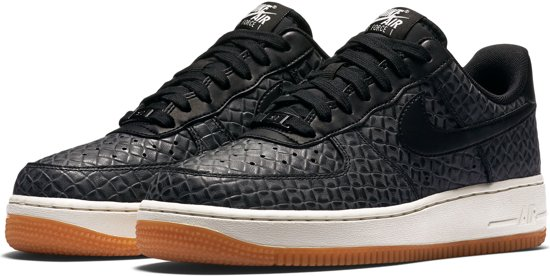 air force 1 zwart
