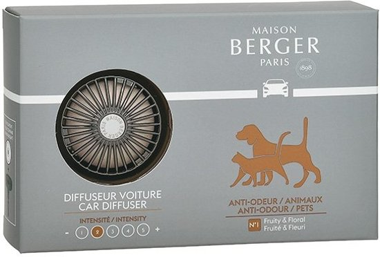 Bolcom Auto Parfum Anti Odeur Pets Maison Berger