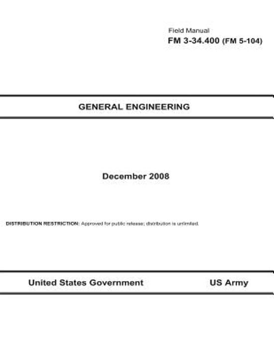 Field Manual 3-34 Engineer Operations August 2011