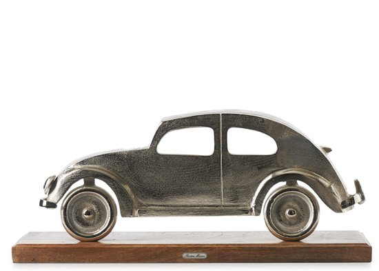 Rivièra Maison - Classic Beetle - Decoratief beeld of figuur - Aluminium; Hout