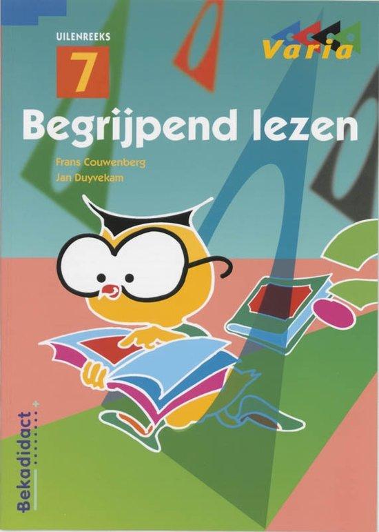 Boek cover Begrijpend lezen Groep 7 en 8 Leerlingenboek van Frans Couwenberg