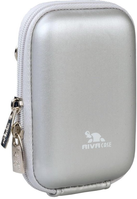 Rivacase - Digitale camera case - Zilver
