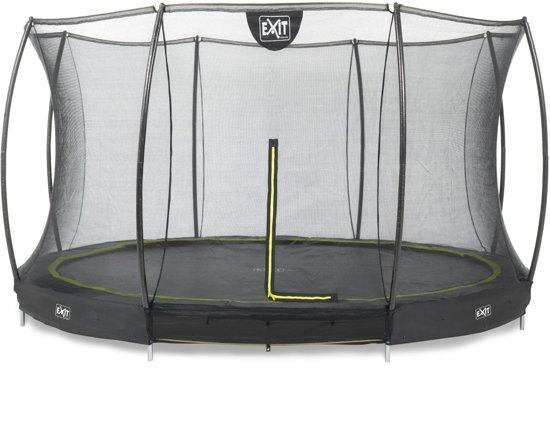 EXIT Silhouette Inground Trampoline à 366 cm met Veiligheidsnet