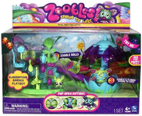 Zoobles Bloeiende Tuin Speelset