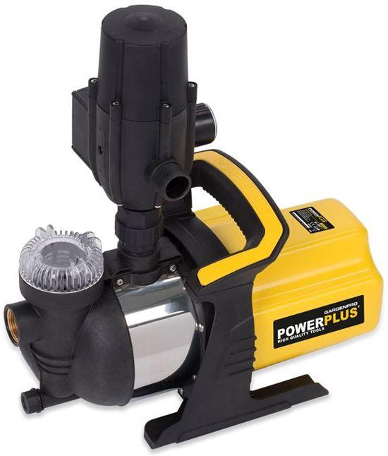 Powerplus POWXG9565 Tuinpomp - 3800 l/h - auto. pompcontrole - geschikt voor besproeien tuin!