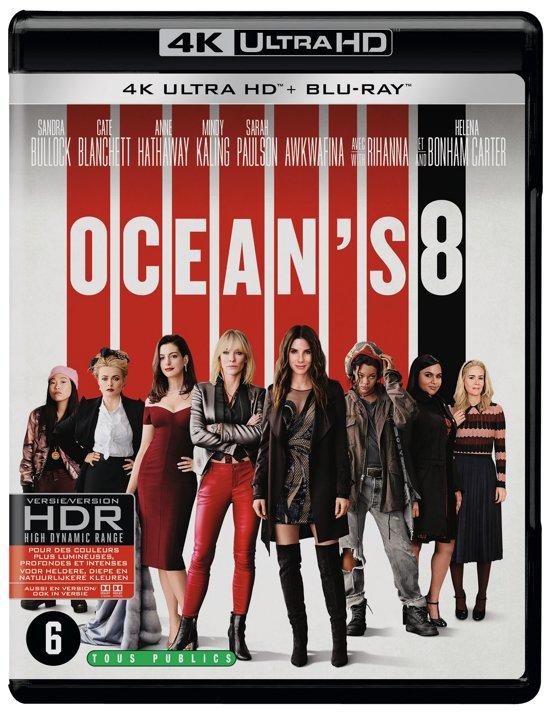 DVD cover van Oceans 8 (4K Ultra HD Blu-ray)