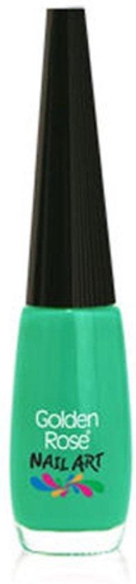 Nail art pen / nail art striper GROEN 130 van Golden Rose.