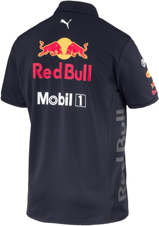 PUMA Aston Martin Red Bull Racing Team Polo Heren - Night Sky - M
