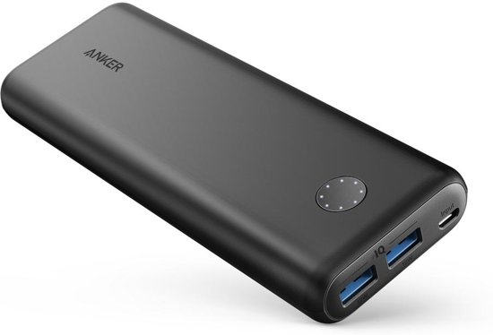 Anker Powerbank Powercore 20.000mAh - Zwart