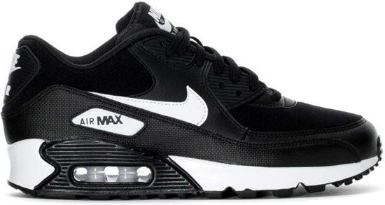 30d9db66ca9 bol.com | Nike Air Max 90 Sneakers Dames - zwart/wit