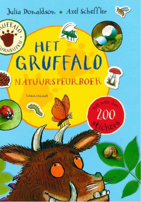Boek cover Het Gruffalo jaarspeurboek van Julia Donaldson (Paperback)