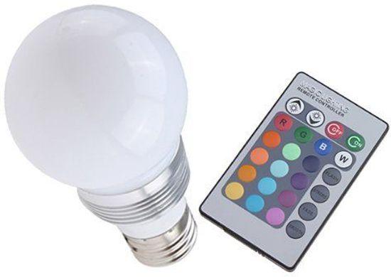 bol.com | Smartwares RGBW LED Lamp Kleur met Afstandsbediening