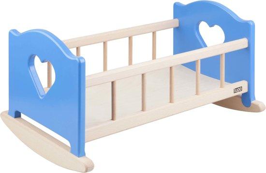 Baby Schommel Bed.Bol Com Schommel Poppenwieg Poppenbed Hout 51 5x34x29cm