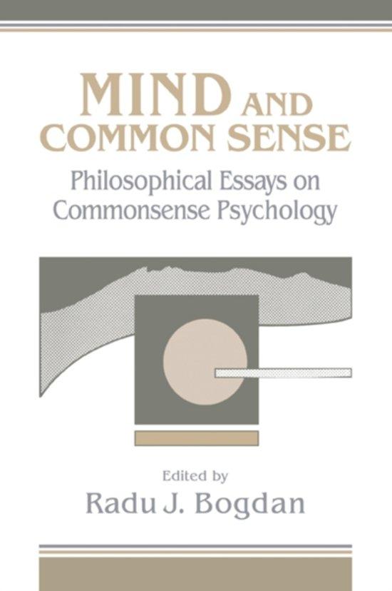 essays on common sense