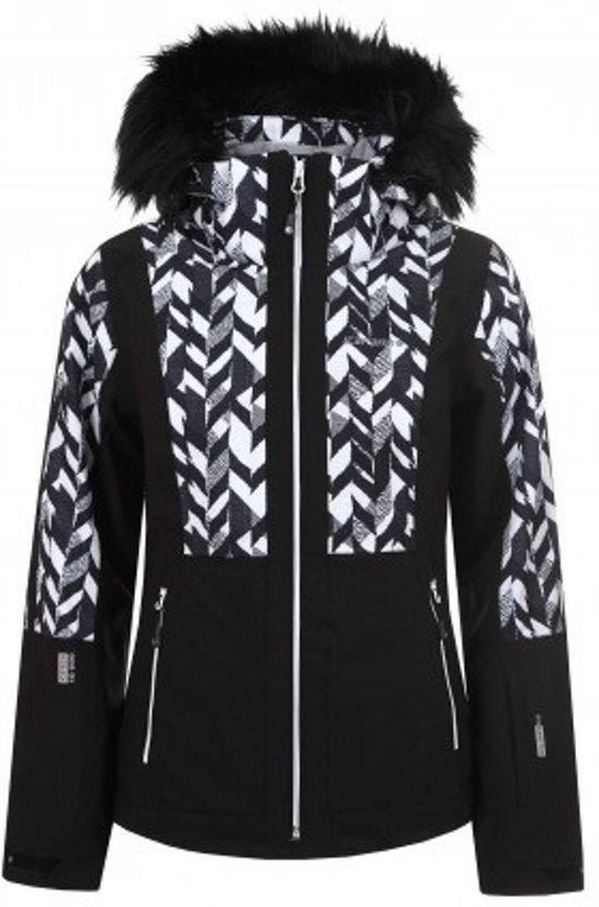 Zwart Witte Winterjas.Bol Com Icepeak Winterjas Nancy Dames Zwart Wit Maat 40