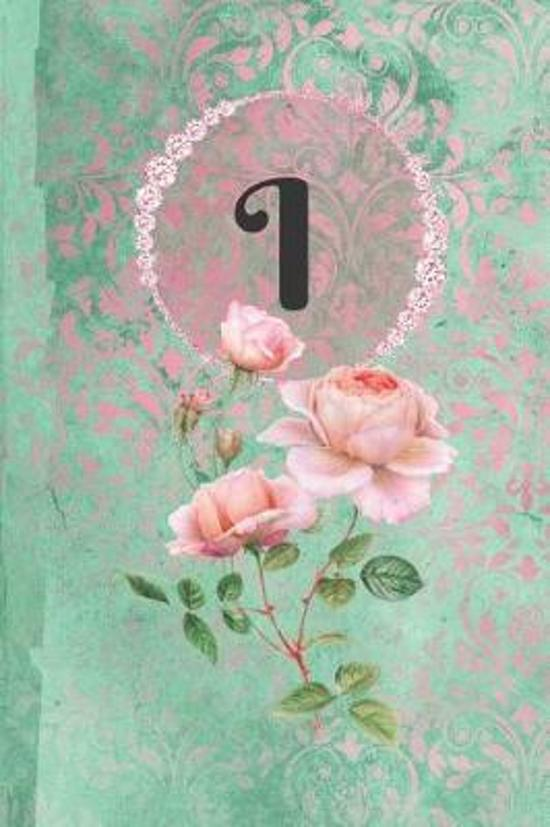 Personalized Monogrammed Letter I Journal