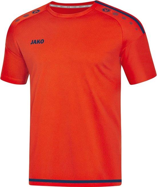 Jako Striker 2.0 Dames T-Shirt - Voetbalshirts  - rood - 44
