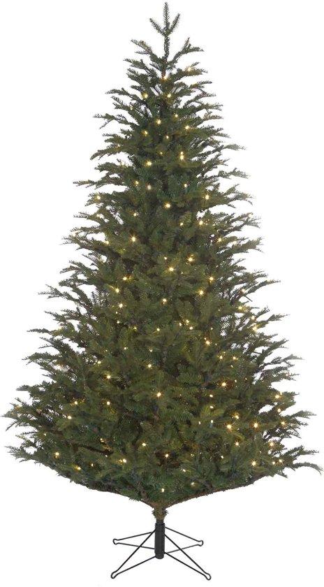 black box kunstkerstboom led frasier fir maat in cm 215 x 145 groen 408 led