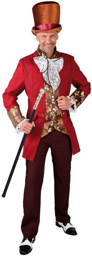 Koning Prins & Adel Kostuum | Gefortuneerde Heer Parijs 19e Eeuw | Man | Small | Carnaval kostuum | Verkleedkleding